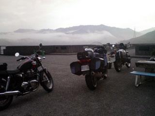 田子倉ダムにて2