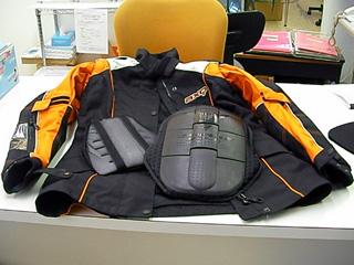 胸部&脊髄プロテクター