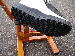 ALPINESTAR NO STOPの靴底
