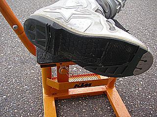 ALPINESTAR TEC10の靴底