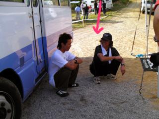 ミヤザキさんと野本選手