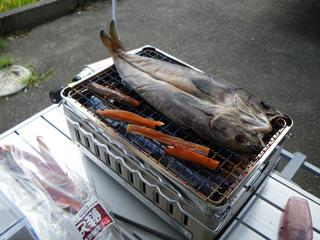 鮭とばとほっけの開き