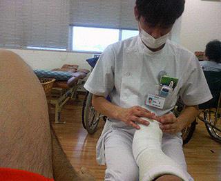 I田療法士