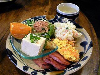 沖縄風朝食