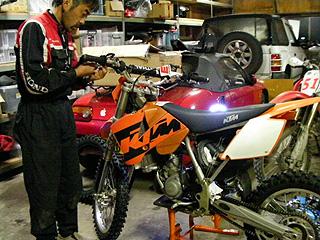 バイク整備