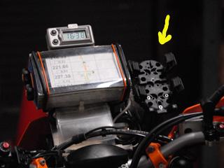 GPSホルダー
