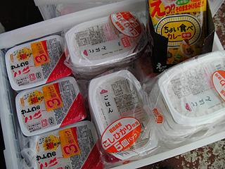 レトルトご飯