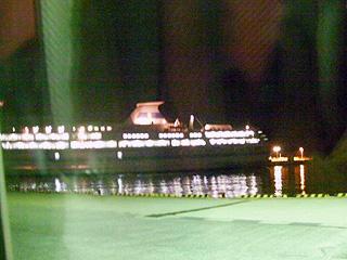 両津港到着