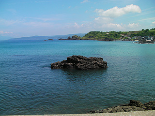 佐渡の海岸