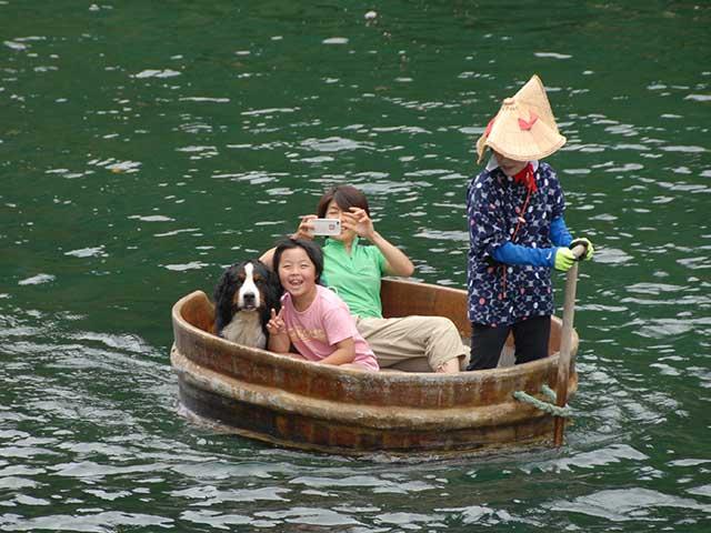 たらい舟こはる